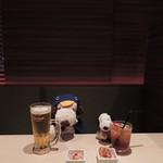 KICHIRI - まずは、ビールとウーロン茶でかんぱ~い!