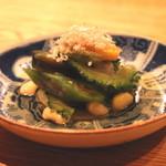 高太郎 - 夏野菜の煮びたし (2015/08)
