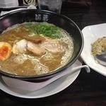 麺蔵ひの屋 - Bセット<ラーメン+半チャン>(830円)200円お得