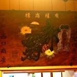 西口酒店 - 戦前まで堺で醸造されていた「都菊」の古い看板が渋い