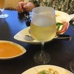 スパイスガーデン - 飲み放題メニューにワインもある!