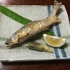 割烹の味 仁 - 料理写真:鮎焼き、800円です。