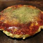 つくし - お好み焼き豚玉(ソース、青のり、カツオ掛け)