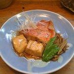 新八 - 料理写真:大人気!キンメ鯛の煮付け!