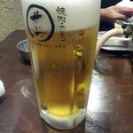 焼肉ホルモン せいご - 生ビール