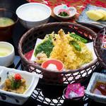 浜菊 - 天婦羅定食