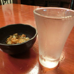 山梨郷土料理×日本酒・地酒 よってけし - 七賢 吟醸 580円。