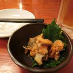 山梨郷土料理×日本酒・地酒 よってけし - お通し。