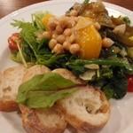 su_mu - 「ジャーサラダ」 瓶からお皿に出しました。