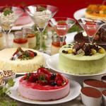 シャンゼリゼ - 料理写真:ホテルパティシエこだわりの手作りスイーツの数々