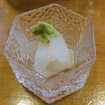 喜久寿司 - シロエビ   15.08.中旬