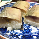 北陸エアターミナルビル売店 - 料理写真:手押し鯖棒鮨