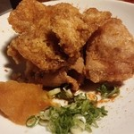四季遊人  - 定番の鶏唐…パリパリで旨しっ!(^_^)b