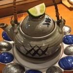 美加久 - 土瓶蒸し700円
