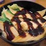 丼ぶりこ - 穴子丼のアップ(2015.08)