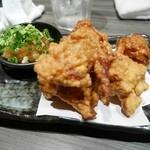 名古屋コーチン・奥三河鶏 地鶏坊主 - から揚げ