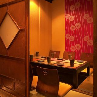 ◆完全個室・半個室完備◆2名様~最大40名様まで