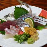 和み処 水とり - 料理写真:刺身盛り合わせ♪