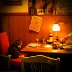 シリンゴル - テーブル席