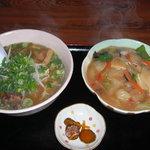 チャイナ - 料理写真:中華丼セット