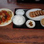 チャイナ - 鶏ちり定食