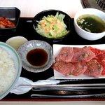 41402624 - カルビ、タン塩定食!
