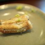 かねりん鰻店 - 白焼き食べかけ
