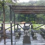 寒井観光余一やな - 外は雨。。。