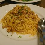 41405615 - 豚肉のラグースパゲティ