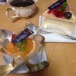 ランプリール・オクシジェーヌ - 紅茶のケーキとチーズケーキ