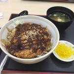 岸和田サービスエリア(下り線)スナックコーナー - ソースかつ丼