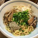 麺鮮醤油房 周月 - 油そば〜(*^◯^*)♪