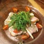 41411676 - 真鯛のカルパッチョ 柚子胡椒風味