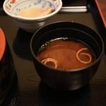 日本料理 黒潮 - 味噌汁
