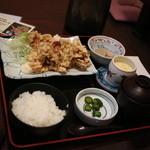 日本料理 黒潮 - から揚げ定食