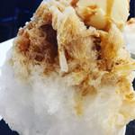 和cafe なが岡 - エスプレッソ氷アイスのっけてみた