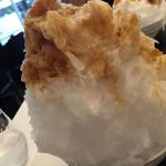 和cafe なが岡 - エスプレッソ氷