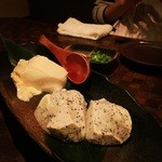 和創作・空 - 豆腐の合盛り