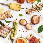 旬彩串焼 だん - 料理写真:焼き鳥のほか、創作串も多数ございます。
