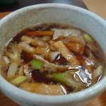 げんき村カフェテリア - 料理写真:肉汁