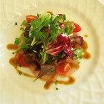 ベッラヴィスタ ラウンジ - 本日の鮮魚のカルパッチョ バルサミコ・マスタードソース