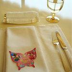 ベッラヴィスタ ラウンジ - テーブルの上にあったカード。