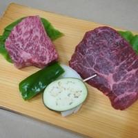 肉料理おがた - 熟成肉ロース・モモステーキ