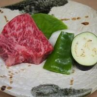 肉料理おがた - 熟成牛ロースステーキ