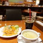 dining & bar ESTADIO - セットのプースー