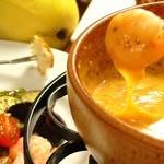 ◆テレビでも紹介された、当店自慢のチーズフォンデュ◆