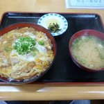 千鶴 - 料理写真:カツ丼 2015年8月