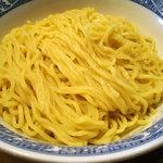 青葉 - 「特製つけめん」麺