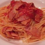 サント ルーチェ - スパゲティアマトリチャーナ風