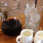 41430261 - アイスコーヒー…2杯分はあるけれど